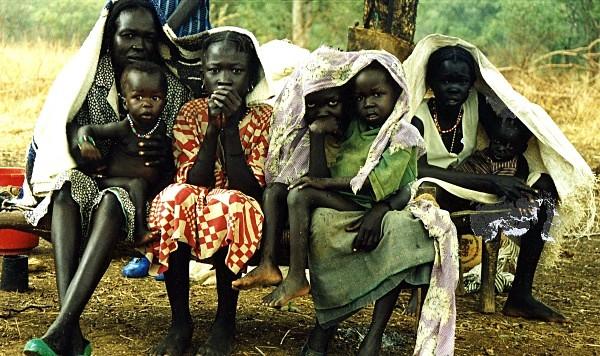South Sudan family - Press and PR