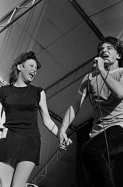 Slane81-021 - 1981 concert at Slane Castle