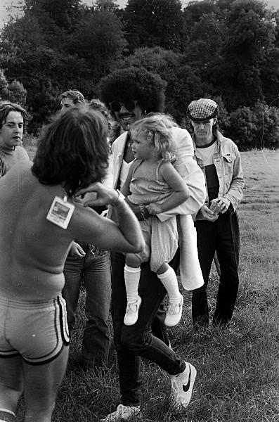 Slane81-004 - 1981 concert at Slane Castle