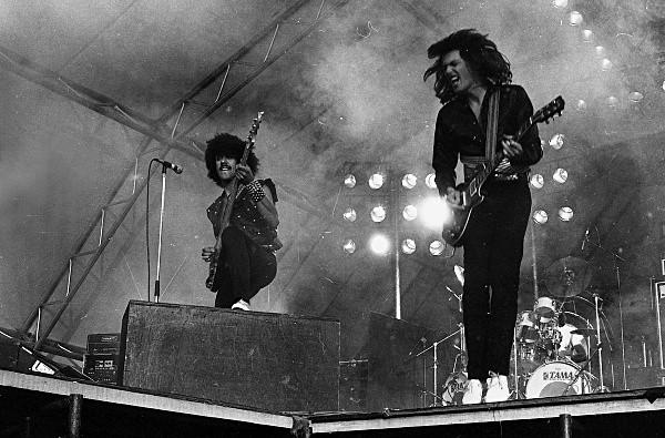 Slane81-020 - 1981 concert at Slane Castle