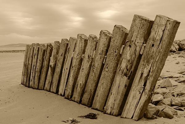 Coastal defence02sepia - Landscapes