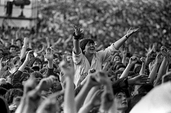 Slane81-042 - 1981 concert at Slane Castle