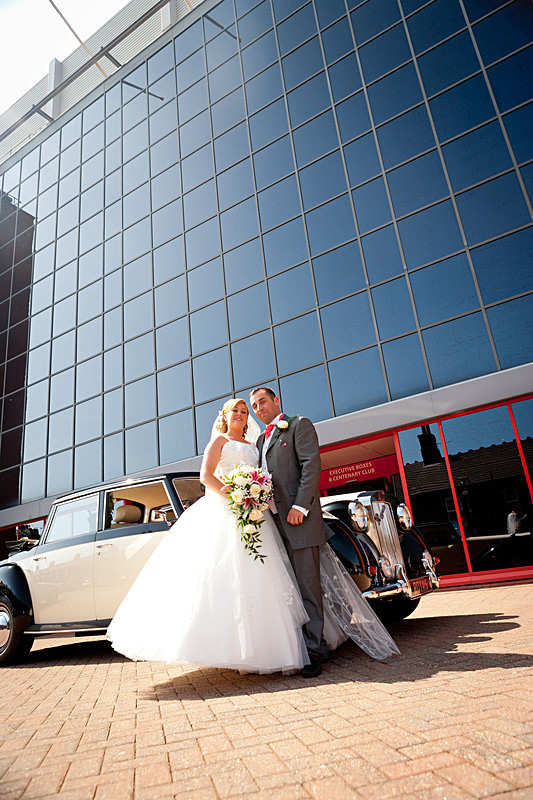 Wedding Liverpool Photographer Fenita Photography Studio Football Club - Wedding