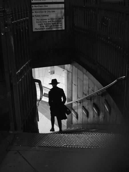 Bank Silhouette London Street Photography