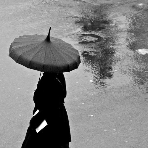 Pagoda Elegance - Rain n' Brollies