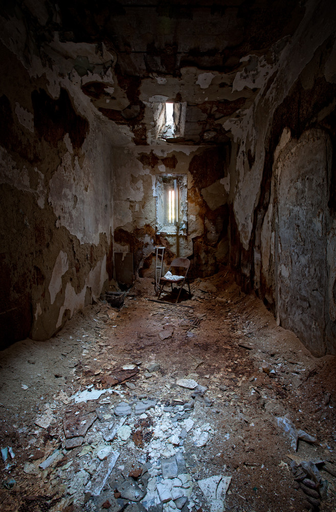 Decayed Cell  Holmesburg Prison  Philadelphia Pa