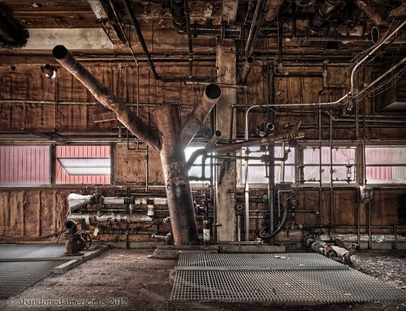 Crompton Color, Gibraltar PA - Matthew Christopher's Abandoned America