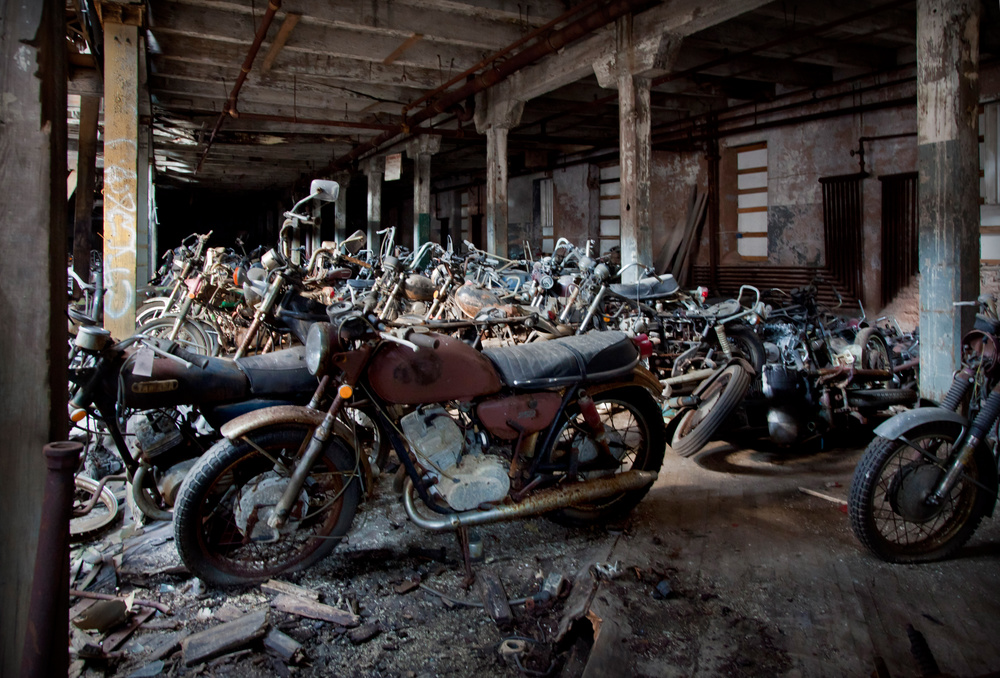 Albuquerque Salvage Yards >> Abandoned Kohl's Motorcycle Salvage - Matthew Christopher ...