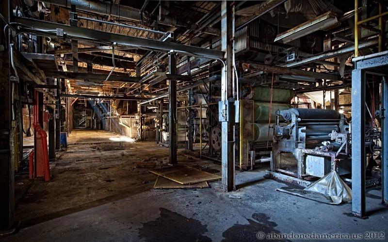 Daugherty Textile Mills Abandoned America