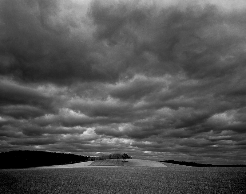 BEFORE THE STORM - BLACK AND WHITE LANDSCAPES