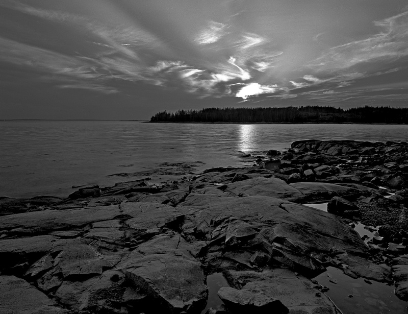 GOOSE COVE - BLACK AND WHITE LANDSCAPES