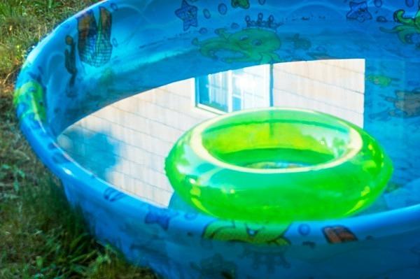 Swimming Pool Waiting - The Backyard Series
