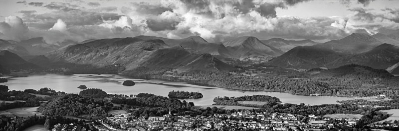 Sublime View - Keswick, Derwent Water and the north-western Fells - Lake District