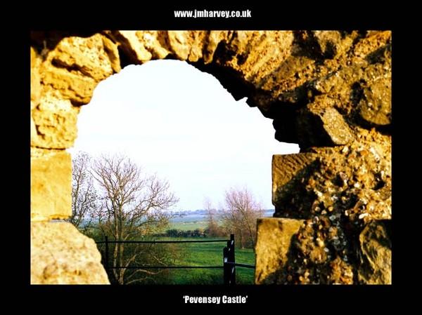 Pevensey 05 - Pevensey Castle