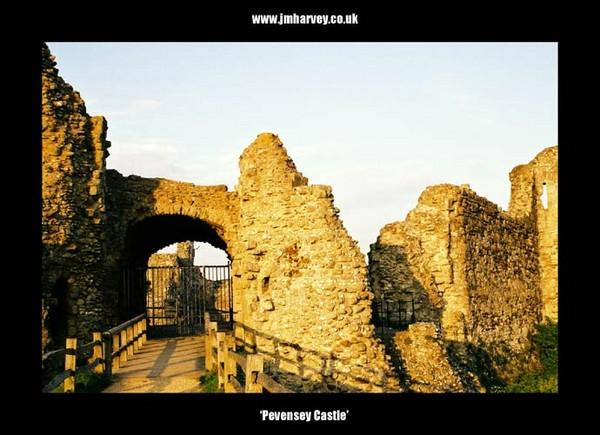 Pevensey 12 - Pevensey Castle