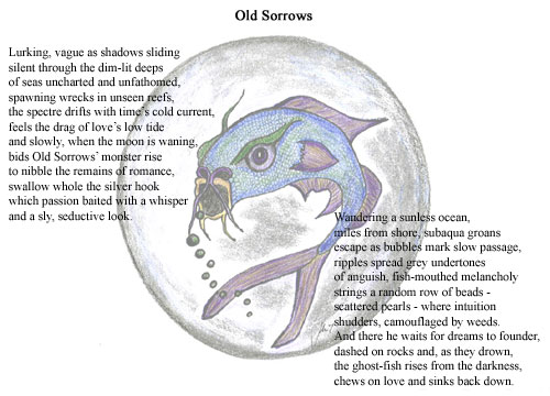 Old Sorrows - Illustrated Poetry