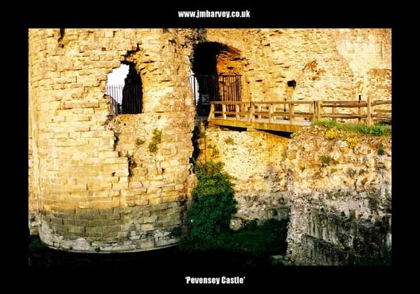 Pevensey 02 - Pevensey Castle