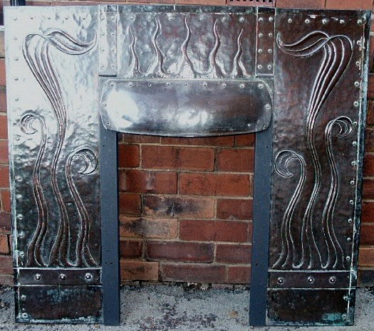 Arts & Crafts fireplace insert - fireplaces and accessories
