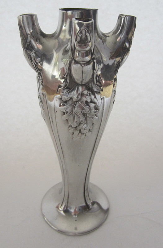 Christofle Gallia Stag Beetle Vase - Decorative arts metalwork