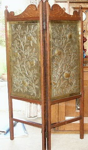 Keswick Arts & Crafts brass screen - Archive sold items