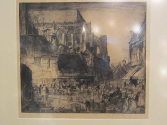 Frank Brangwyn - Art works on paper