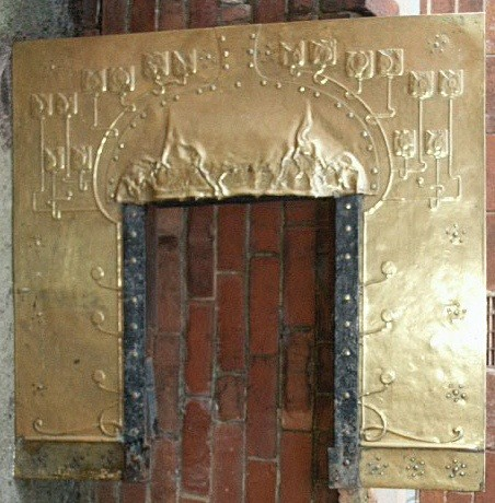 Art Nouveau fireplace insert - Archive sold items