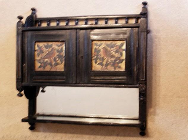 aesthetic wall cupboard - furniture