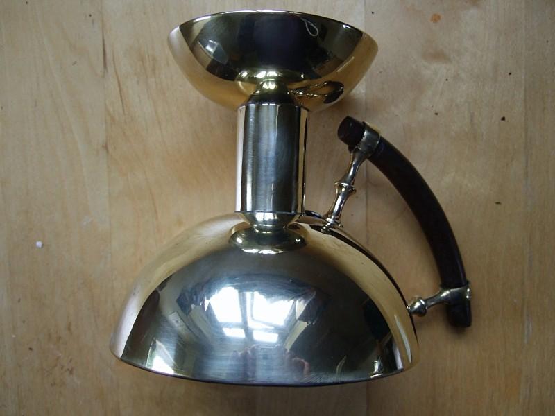 Christopher Dresser Brass Kardofan chamberstick - Archive sold items