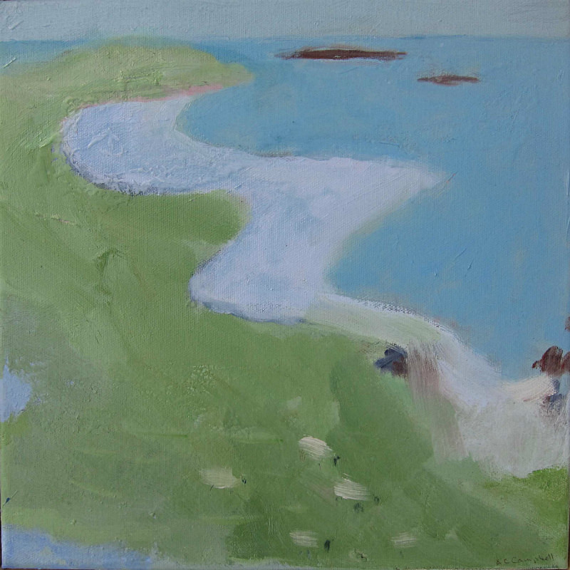 Mol an Tighe Luskentyre - paintings from field-sketches