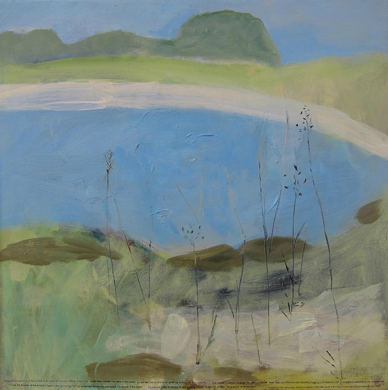 Little Bernera - paintings from field-sketches