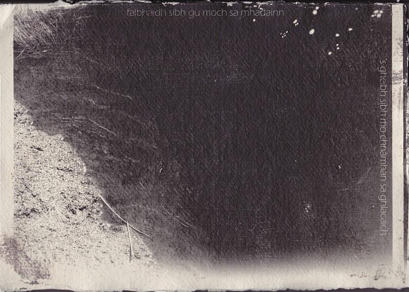 'Gheibh sibh mo chnàmhan sa ghlacaich' - astar: silver gelatin photographs