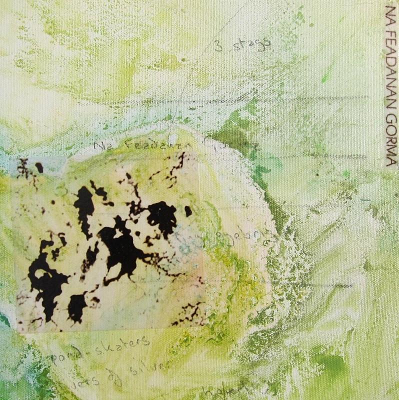 An Talamh Briste (detail) - a-mach an gleann: paintings