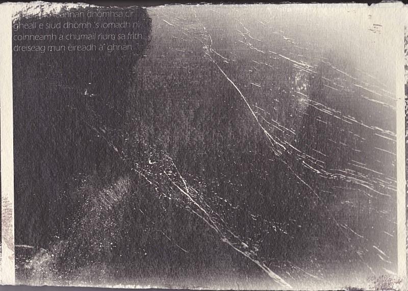 'Gheall mo leannan dhòmhsa cìr' - astar: silver gelatin photographs