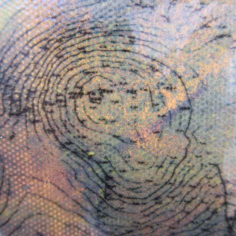 Beinn a' Bhoghalan (detail) - a-mach an gleann: paintings