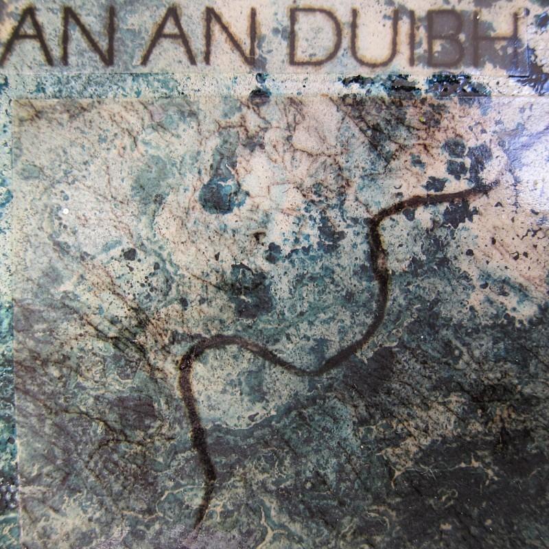Linne Bugha Gheàrraidh 'an an Duibh (detail) - a-mach an gleann: paintings