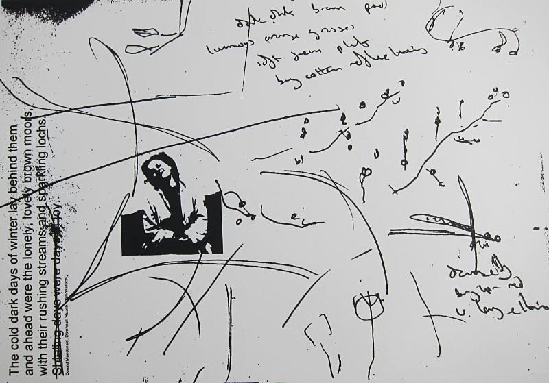'days of joy' - a-mach an gleann: screenprints