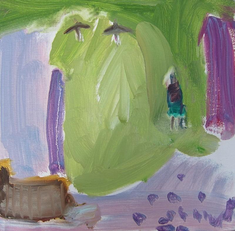 machair skylarks - paintings from field-sketches