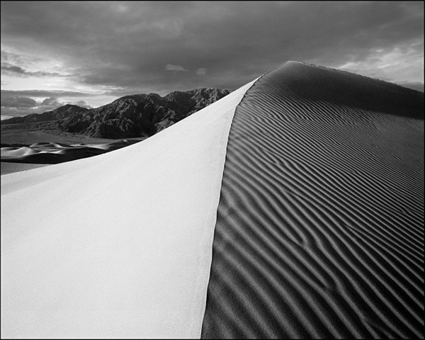 Dune, Death Valley - Monochrome Landscape America