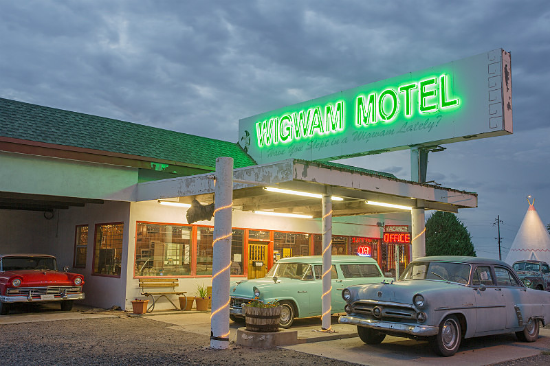 Wigwam Motel, Holbrook NM. - Route 66