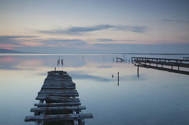 Oyster Piers France 2 - European Landscape
