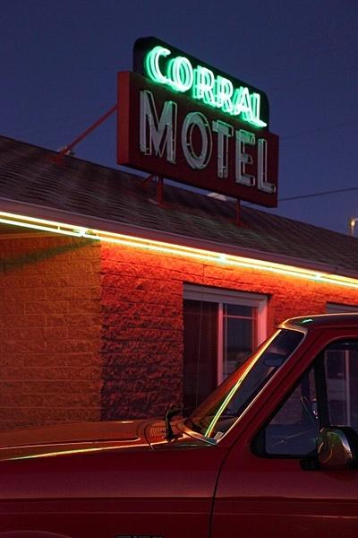 Corral Motel, Montana. - American Icons