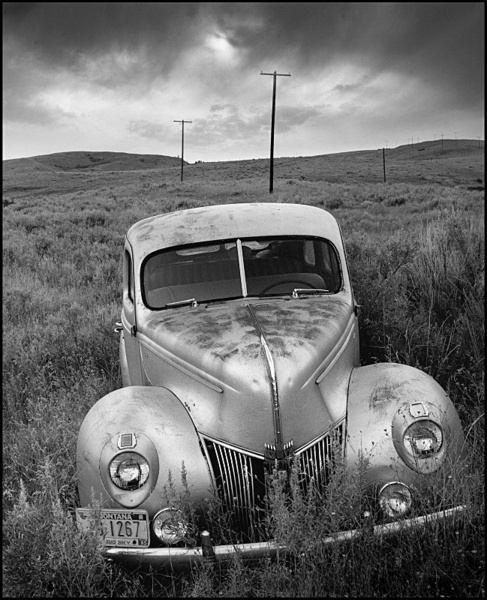 Abandoned Ford, Red Lodge - Abandoned America