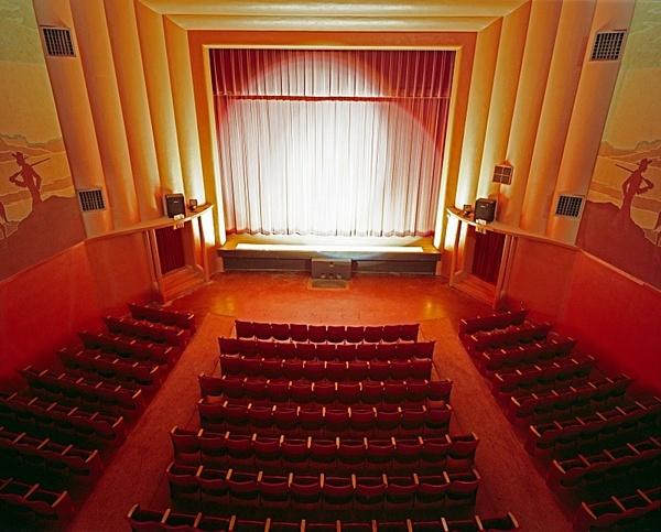 Auditorium, Majestic, Eastland, Texas. - American Icons