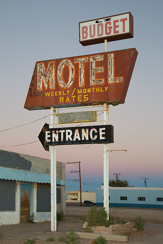 Budget Motel Winslow Az. - Route 66