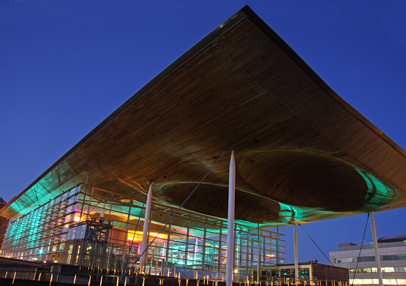 The Welsh Assembly Cardiff - The Urban Environment