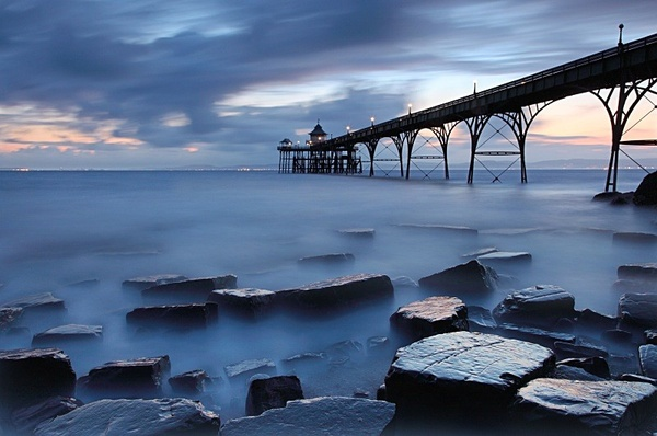 Pier at Clevedon - Coastal Britain