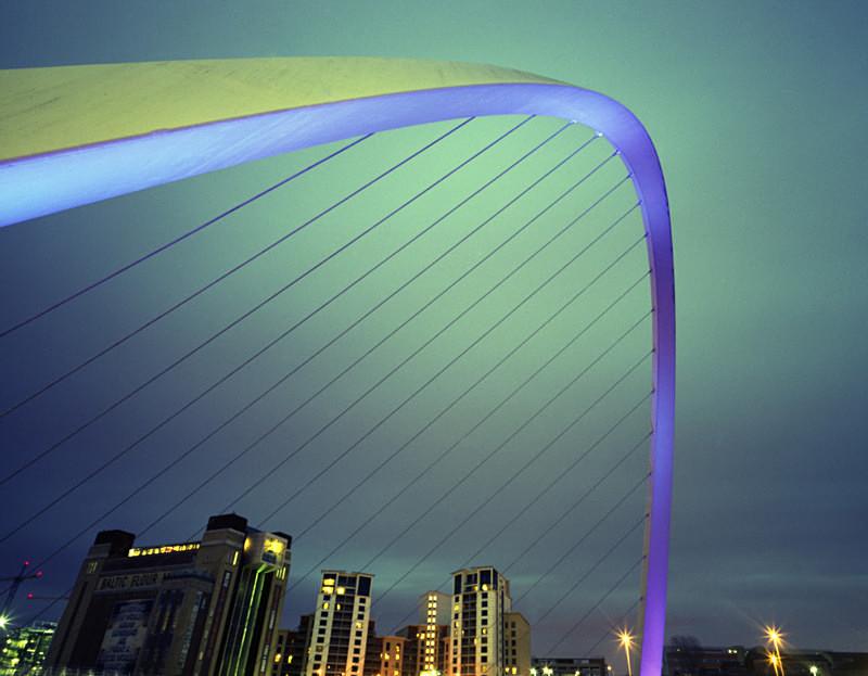 Millenium Bridge Tyneside No 2 - The Urban Environment