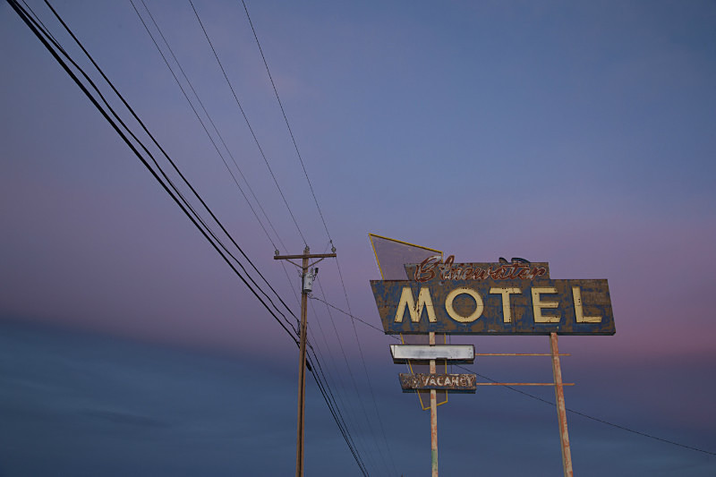 Bluewater Motel on Route 66 - Route 66