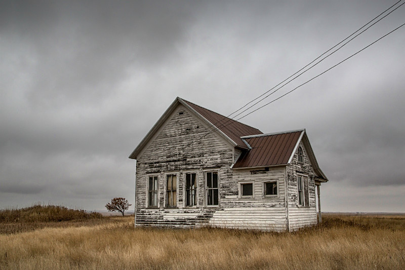 Abandoned School, North Dakota. - Abandoned America