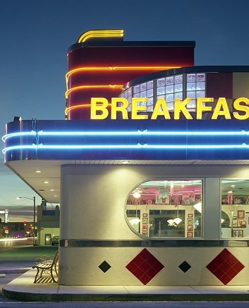 Diner, Salina, Kansas. - American Icons